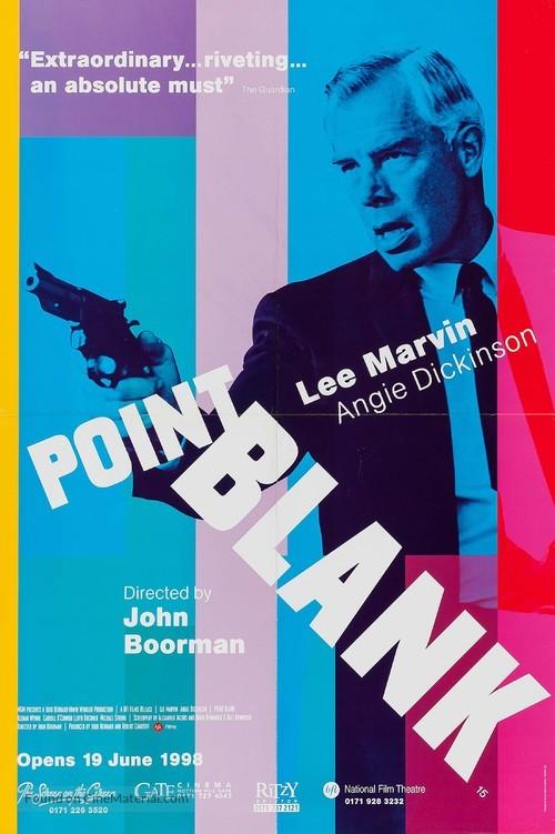 Point Blank - British Movie Poster