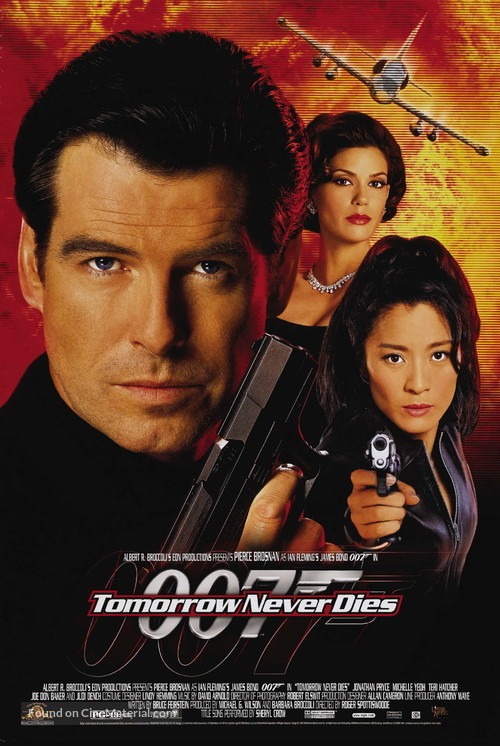 Tomorrow Never Dies - Movie Poster