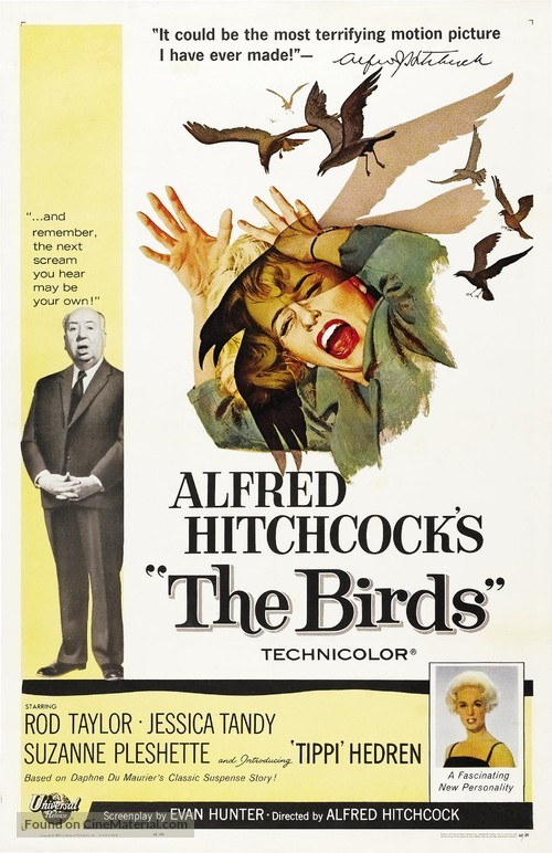 The Birds - Movie Poster