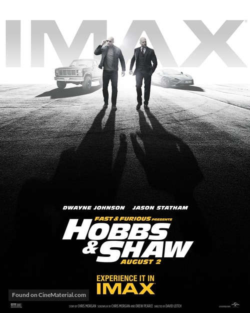 Fast & Furious Presents: Hobbs & Shaw - Movie Poster