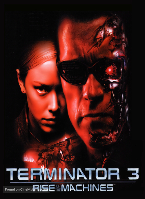 Movie posters signed terminator