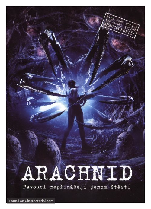 Arachnid 2001 Czech Movie Poster