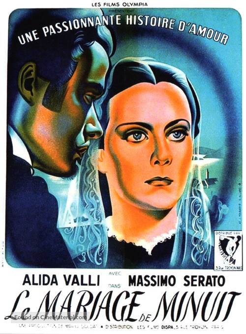Piccolo mondo antico - French Movie Poster