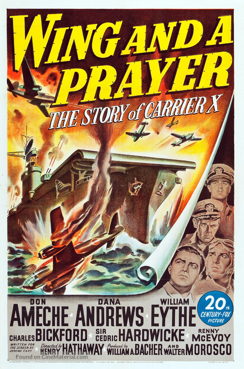 Wing and a Prayer - Movie Poster