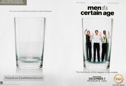"""""""Men of a Certain Age"""" - Movie Poster"""