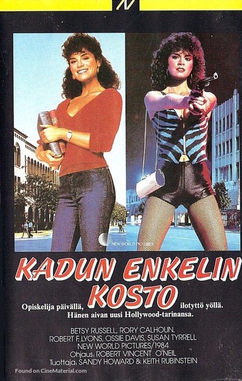 Avenging Angel - Finnish VHS movie cover