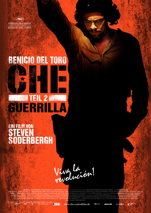 Che: Part Two - German Movie Poster