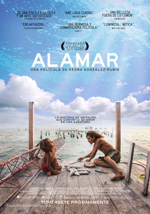 Alamar - Mexican Movie Poster