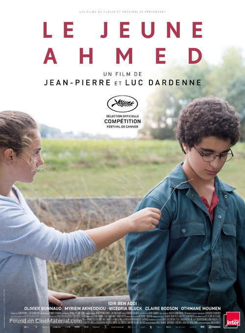 Le jeune Ahmed - French Movie Poster