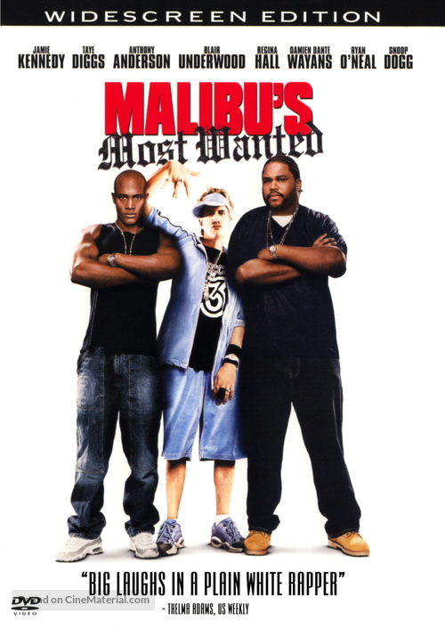 Malibu's Most Wanted - DVD cover