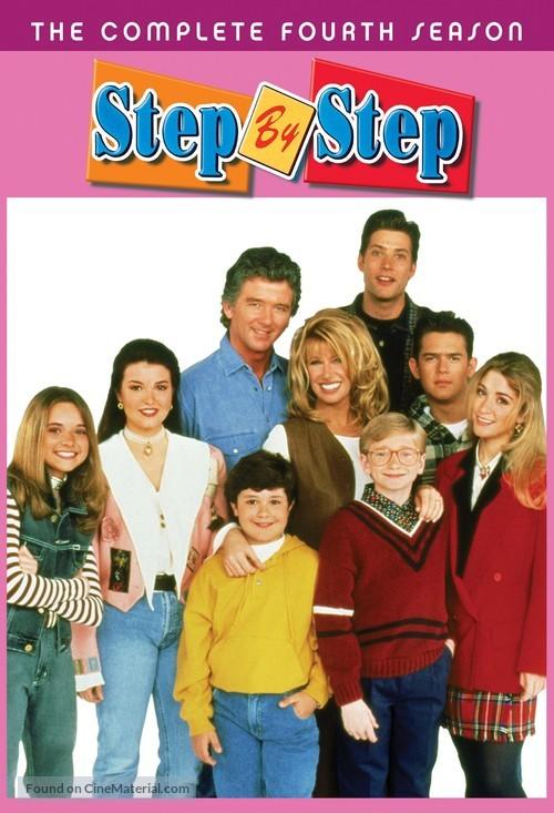 """""""Step by Step"""" - DVD movie cover"""