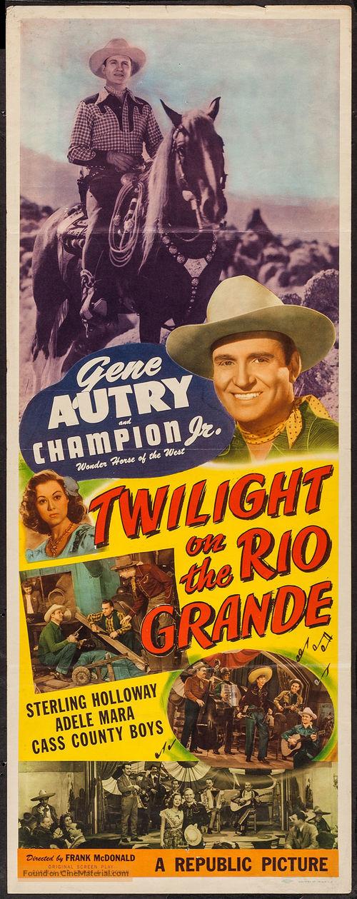 Twilight on the Rio Grande - Movie Poster