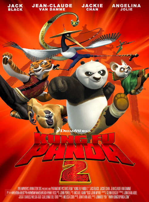 Kung Fu Panda 2 - Movie Poster
