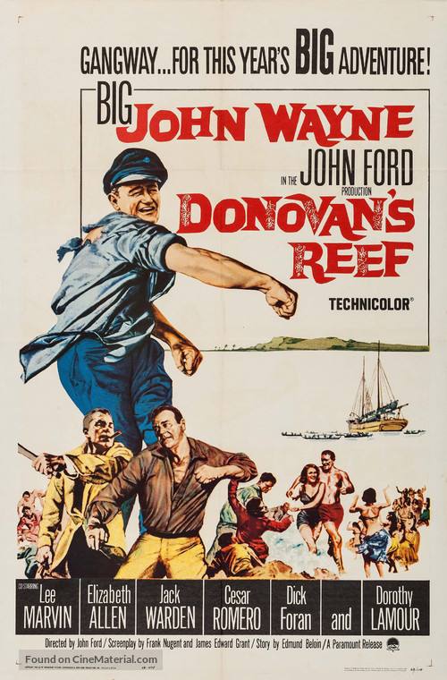 Donovan's Reef - Movie Poster