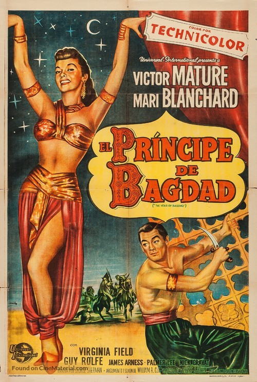 The Veils of Bagdad - Argentinian Movie Poster