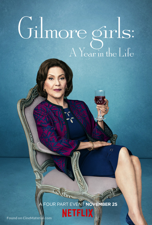 Gilmore Girls: A Year in the Life - Movie Poster