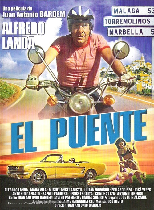 El puente - Spanish Movie Cover