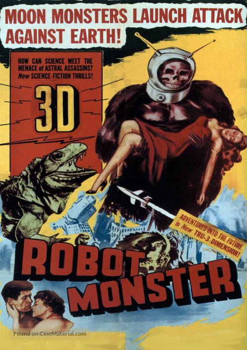 Robot Monster - DVD movie cover