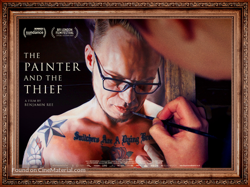 The Painter and the Thief - British Movie Poster