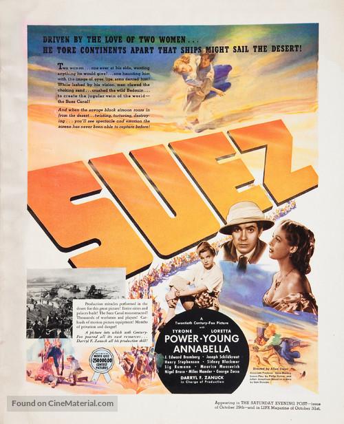 Suez - poster