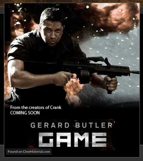 Gamer - Movie Poster