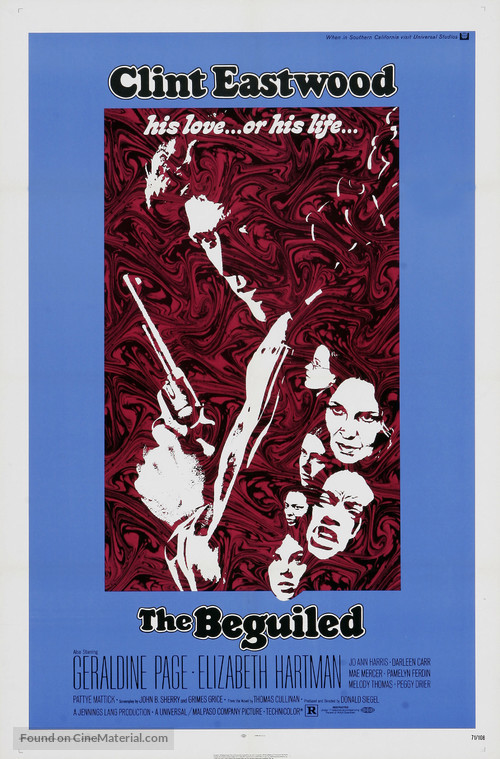 The Beguiled - Movie Poster