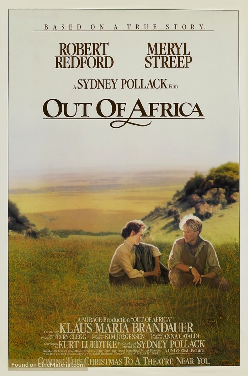 Out of Africa - Movie Poster