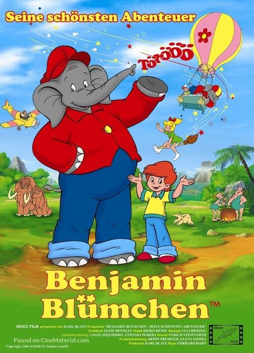 """Benjamin Blümchen"" - German Movie Poster"