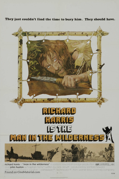 Man in the Wilderness - Movie Poster