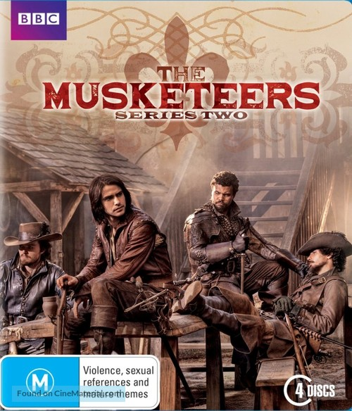 """""""The Musketeers"""" - Australian Movie Cover"""
