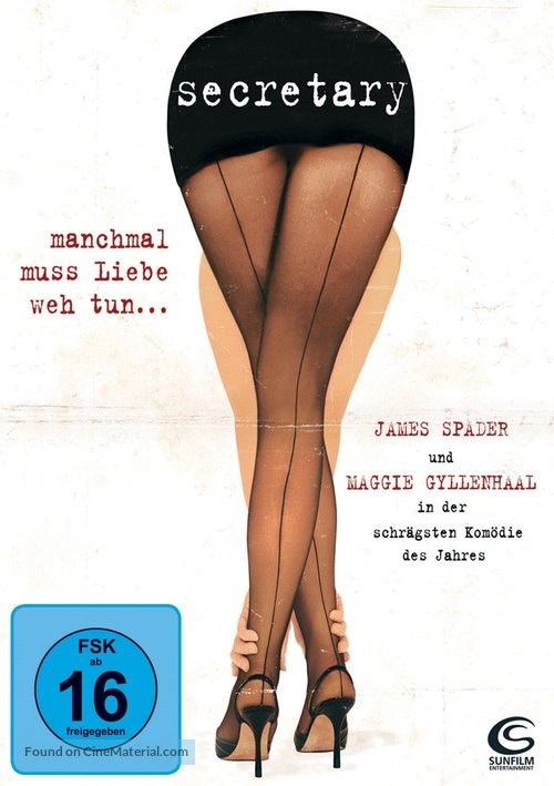 Secretary - German Movie Cover