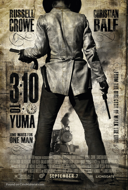 3:10 to Yuma - Movie Poster
