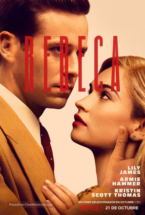 Rebecca - Spanish Movie Poster