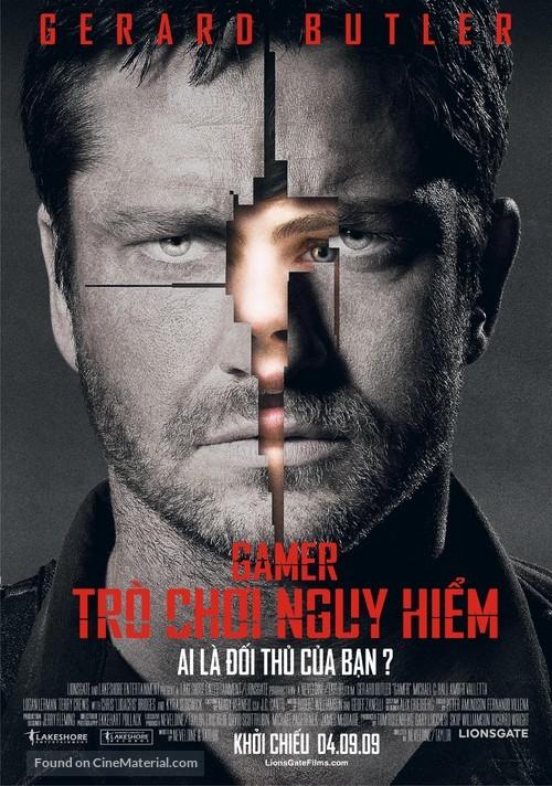 Gamer - Vietnamese Movie Poster