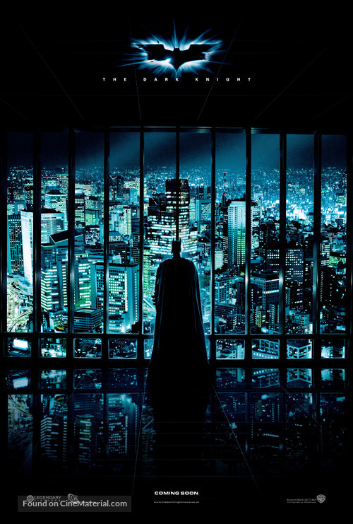 The Dark Knight - British Movie Poster