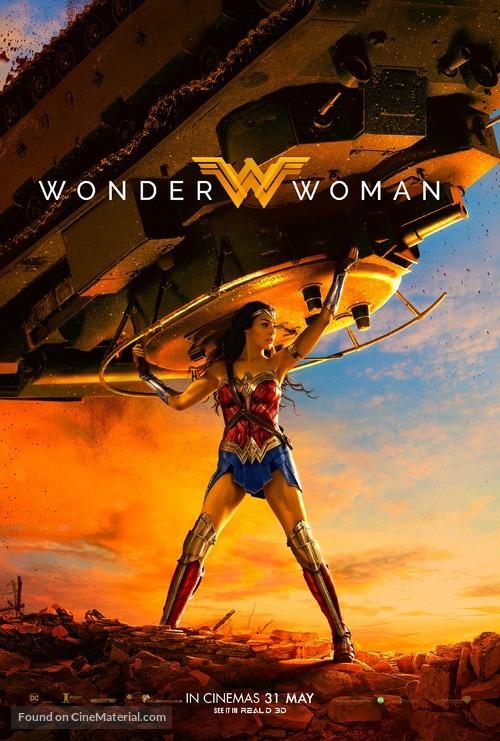 Wonder Woman - Singaporean Movie Poster