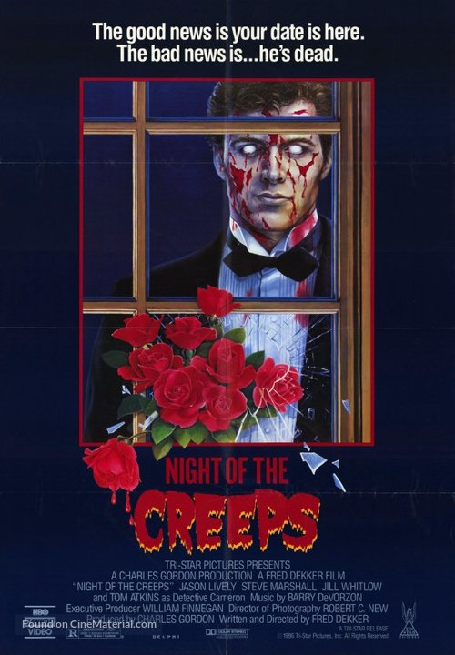 Night of the Creeps - Movie Poster