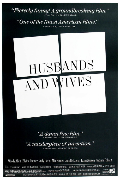 Husbands and Wives - Movie Poster