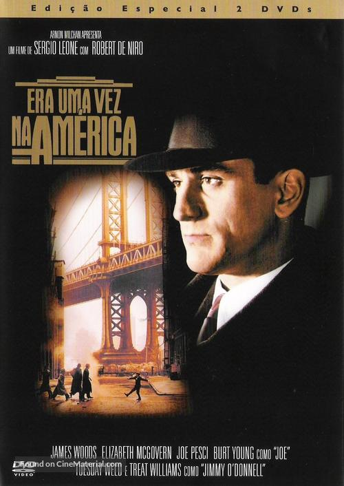 Once Upon a Time in America - Portuguese Movie Cover