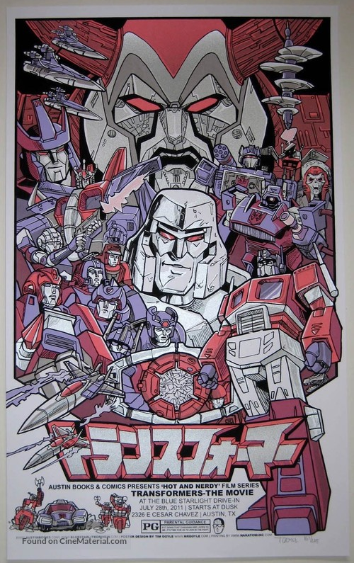 Transformers - Homage movie poster