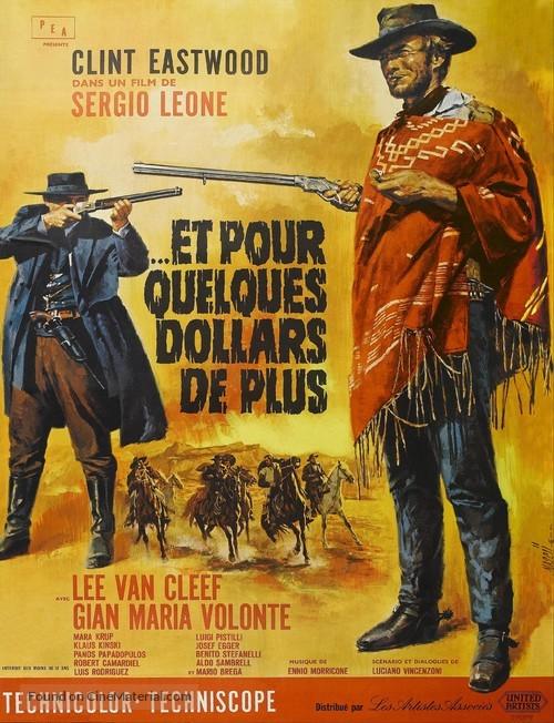 Per qualche dollaro in più - French Movie Poster