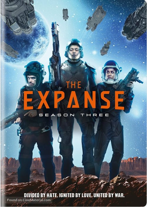 """""""The Expanse"""" - DVD movie cover"""