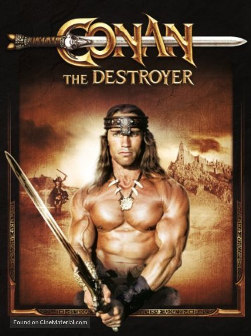 Conan The Destroyer - Movie Cover