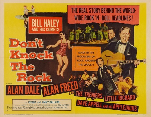 Don't Knock the Rock - Movie Poster