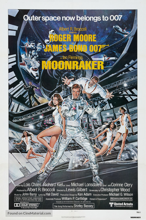 Moonraker - Theatrical poster