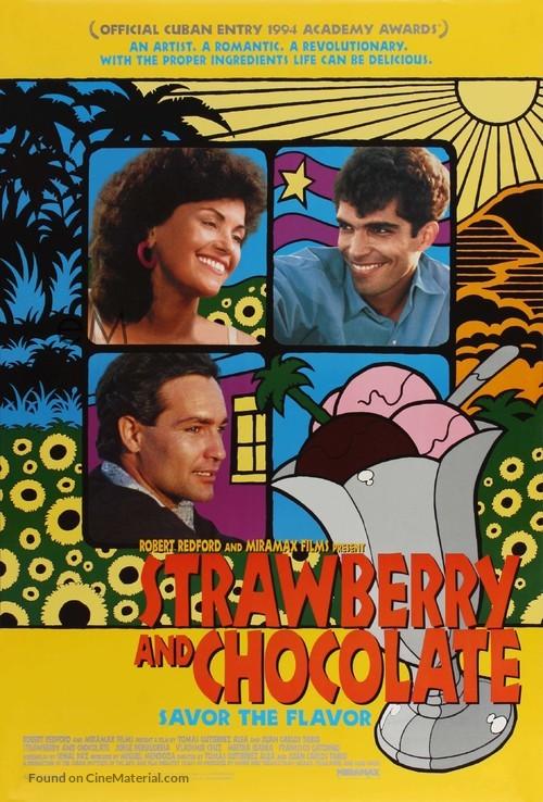 Fresa y chocolate - Movie Poster