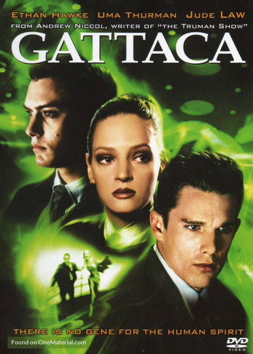 Gattaca - DVD movie cover