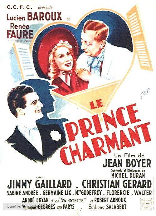 Le prince charmant - French Movie Poster