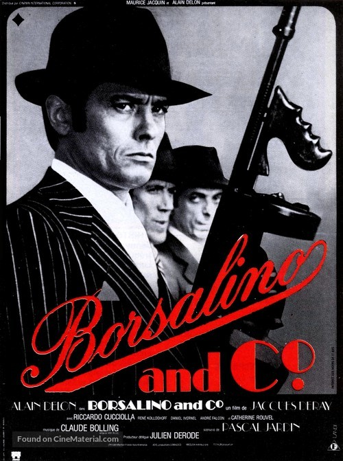 Borsalino and Co. - French Movie Poster