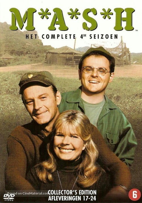 """M*A*S*H"" - Dutch DVD cover"